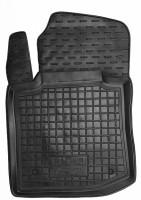 Коврик в салон водительский для BYD F0 '08- резиновый, черный (AVTO-Gumm)