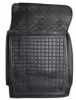 Коврик в салон водительский для BYD F3 '05- резиновый, черный (AVTO-Gumm)  АКПП