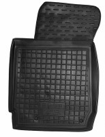 Коврик в салон водительский для BYD F3 '05- резиновый, черный (AVTO-Gumm)  МКПП