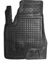 Коврик в салон водительский для BYD S6 '10- резиновый, черный (AVTO-Gumm)