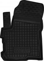 Коврик в салон водительский для Chery Beat '11- резиновый, черный (AVTO-Gumm)