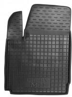 Коврик в салон водительский для Chery M11 '08- резиновый, черный (AVTO-Gumm)