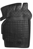 Коврик в салон водительский для Chery QQ '12- резиновый, черный (AVTO-Gumm)