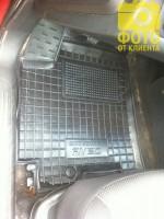 Фото 6 - Коврик в салон водительский для Chevrolet Aveo '06-11 резиновый, черный (AVTO-Gumm)