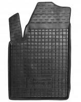 Коврик в салон водительский для Citroen Berlingo '97-07 резиновый, черный (AVTO-Gumm)