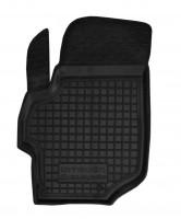 Коврик в салон водительский для Citroen C-Elysee '13- резиновый, черный (AVTO-Gumm)