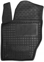 Коврик в салон водительский для Citroen C4 / DS4 '11- резиновый, черный (AVTO-Gumm)