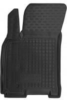 Коврик в салон водительский для Daewoo Gentra '13- резиновый, черный (AVTO-Gumm)