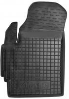 Коврик в салон водительский для Daewoo Matiz '01- резиновый, черный (AVTO-Gumm)