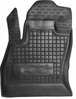 Коврик в салон водительский для Fiat 500L '13- резиновый, черный (AVTO-Gumm)