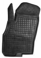 Коврик в салон водительский для Fiat Punto '00-11 резиновый, черный (AVTO-Gumm)