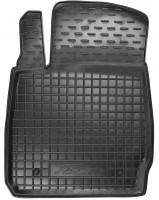 Коврик в салон водительский для Ford Fiesta '09-17 резиновый, черный (AVTO-Gumm)