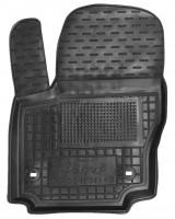 Коврик в салон водительский для Ford Mondeo '07-14 резиновый, черный (AVTO-Gumm)