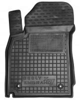 Коврик в салон водительский для Geely Emgrand X7 '13- резиновый, черный (AVTO-Gumm)