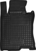 Коврик в салон водительский для Honda Accord 8 '08-13 EUR резиновый, черный (AVTO-Gumm)