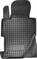 Коврик в салон водительский для Honda Civic 4D '06-12 седан резиновый, черный (AVTO-Gumm)