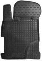 Коврик в салон водительский для Honda Civic 4D '12-17 резиновый, черный (AVTO-Gumm)