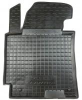Коврик в салон водительский для Hyundai Elantra MD '11-15 резиновый, черный (AVTO-Gumm)