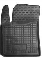 Коврик в салон водительский для Hyundai i-10 '14- резиновый, черный (AVTO-Gumm)