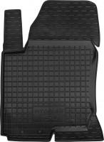 Коврик в салон водительский для Hyundai i30 FD '07-12 резиновый, черный (AVTO-Gumm)