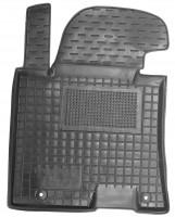 Коврик в салон водительский для Hyundai i30 GD '13-16 резиновый, черный (AVTO-Gumm)
