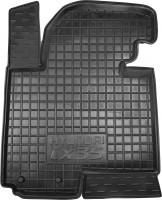 Коврик в салон водительский для Hyundai ix-35 '10-15 резиновый, черный (AVTO-Gumm)
