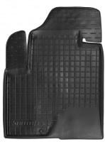 Коврик в салон водительский для Hyundai Santa Fe '06-10 CM резиновый, черный (AVTO-Gumm)