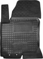 Коврик в салон водительский для Kia Ceed '06-12 резиновый, черный (AVTO-Gumm)