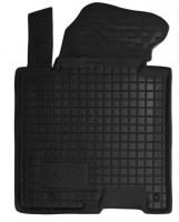 Коврик в салон водительский для Kia Ceed '12- резиновый, черный (AVTO-Gumm)