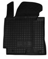 Коврик в салон водительский для Kia Cerato '13-17 резиновый, черный (AVTO-Gumm)