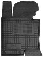 Коврик в салон водительский для Kia Optima 2010 - 2015 резиновый, черный (AVTO-Gumm)