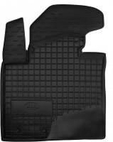 Коврик в салон водительский для Kia Sorento '10-13 XM резиновый, черный (AVTO-Gumm)