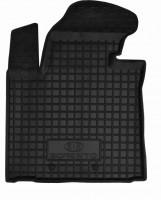 Коврик в салон водительский для Kia Sorento '13- резиновый, черный (AVTO-Gumm)