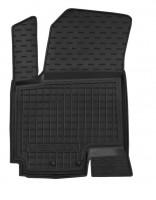 Коврик в салон водительский для Kia Venga '10- резиновый, черный (AVTO-Gumm)