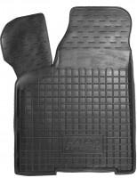 Коврик в салон водительский для Lada (Ваз) 2110-12 '95- резиновый, черный (AVTO-Gumm)