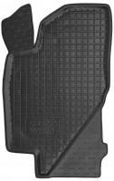 Коврик в салон водительский для Lada (Ваз) Калина (Ваз) 1117-19 '04-13 резиновый, черный (AVTO-Gumm)