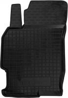 Коврик в салон водительский для Mazda 6 '08-12 резиновый, черный (AVTO-Gumm)