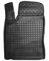 Коврик в салон водительский для MG 5 HB '13- резиновый, черный (AVTO-Gumm)