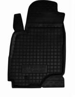 Коврик в салон водительский для Mitsubishi Outlander '03-07 резиновый, черный (AVTO-Gumm)