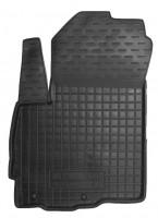 Коврик в салон водительский для Mitsubishi Outlander XL '07-12 резиновый, черный (AVTO-Gumm)