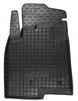 Коврик в салон водительский для Mitsubishi Pajero Wagon 4 '07- резиновый, черный (AVTO-Gumm)