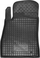 Коврик в салон водительский для Nissan Juke '11- резиновый, черный (AVTO-Gumm)