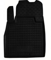 Коврик в салон водительский для Nissan Micra '10-17 резиновый, черный (AVTO-Gumm)