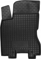Коврик в салон водительский для Nissan X-Trail '08-15 резиновый, черный (AVTO-Gumm)