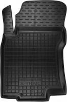 Коврик в салон водительский для Nissan X-Trail (T32) '14- резиновый, черный (AVTO-Gumm)