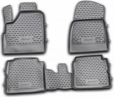 Коврики в салон для Lada (Ваз) Niva 2131 '01-06 4x4 5 дв. полиуретановые (Novline / Element)