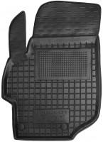 Коврик в салон водительский для Peugeot 301 '12- резиновый, черный (AVTO-Gumm)