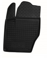 Коврик в салон водительский для Peugeot 408 '12- резиновый, черный (AVTO-Gumm)