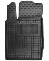 Коврик в салон водительский для Renault Symbol '01-12 резиновый, черный (AVTO-Gumm)