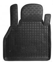 Коврик в салон водительский для Renault Kangoo '09- резиновый, черный (AVTO-Gumm)